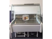 Small Refrigerated Serve Over Counter / Chiller / Salad Bar / Deli Counter