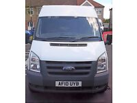 FORD TRANSIT - 3.5 T LWB MEDIUM ROOF - 2.4L - 2010 - EXCELLENT CONDITION - £4050 OR SENSIBLE OFFER!!