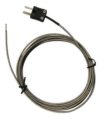 Type J Thermocouple Temperature Sensor Probe Mini Connector 0c To 400c 3 Metre