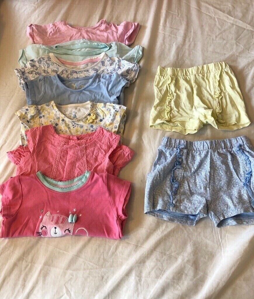213ebfc22512 Baby girl clothes bundle 6-9 months