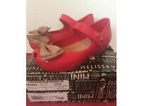 Girls Mini Melissa jelly shoes