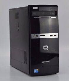 WINDOWS 7 COMPAQ 500B COMPUTER TOWER - INTEL DUAL CORE 2.93 PC 4GB RAM - 500GB