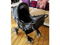 Baby Sportive Travel System, Pram and Car seat