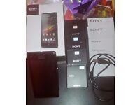 Sony Xperia M (C1905) 4GB Mobile Phone With 4 Original Sony Batteries