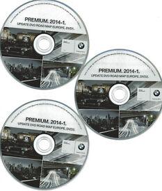 BMW Satnav DVD`s Original Premium 2014