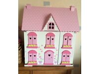 Elc dolls house and accessories furniture and dolls. Great condition.