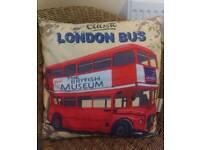 London bus cushion