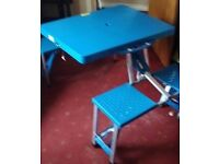 Fold Up Picnic Table and Benches