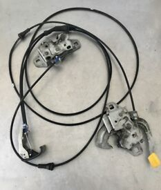 2003 BMW mini one cooper bonnet catches cables interior lever pull