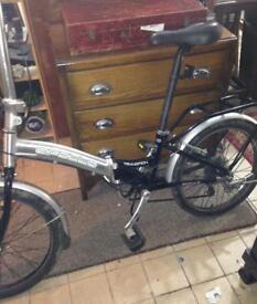 Apollo aluminium folding bike