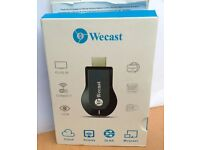 Wecast Mini WiFi HDMI Dongle Receiver 1080P For HDTV Smart Phones Tablet PC HD Media Streaming
