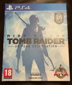 Rise of the Tomb Raider 20 year celebration Artbook edition for PS4