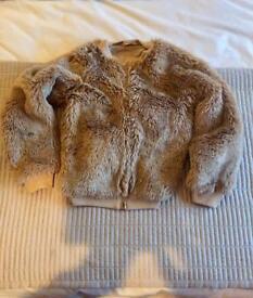 Next girls fur jacket