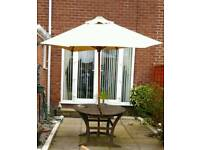 Large garden canopy for table