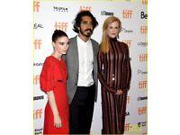 "Film Premiere "" Lion "" Nicole Kidman & Dev Patel - London Film Festival - Odeon Leicester Square"