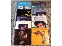 10 Rock & Pop LPs Zappa David lee Roth etc