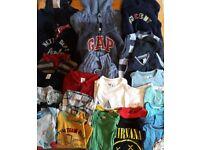 Bundle of boys 12-18m clothes