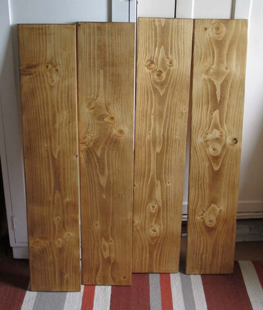 Wood Timber Planks Boards Antique Finish Approx