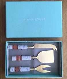 Oliver Bonas Cheese Knife Gift Set