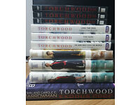 Torchwood books & Season 1 DVDs. £1-£5 individually / £10 for everything.