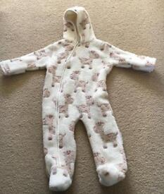 Brand new without tags fleece pramsuit
