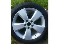 Audi a3 alloy wheel 225/45/17