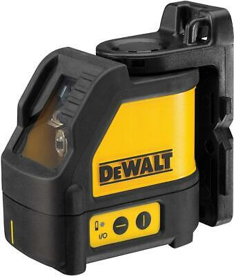 Dewalt 165 Ft Red Self-leveling Cross Line Laser Level Case 3 Aaa Batteries