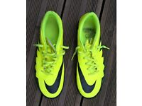 mens nike football astro turf boots size 10 UK