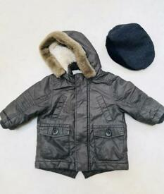 Boy's coat and hat