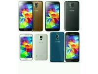 Samsung Galaxy S5 4G Brand New Uk Stock SM-G900F 16gb Unlocked Open To All Networks