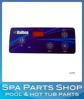Balboa Spa Control Panel Duplex Digital - Replacement Overlay Faceplate 10418