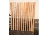 Pine planks x 12 - More similar available