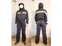 Trespass Ski Suit Size M Unisex (Dark Grey / Black)