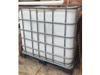 IBC WATER TANK - 1000LITRES