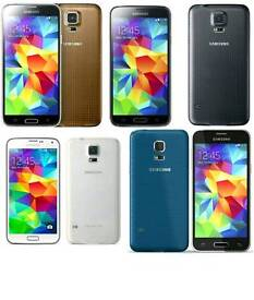 Brand New(Unlocked) Samsung Galaxy S5 16gb White And Black Colour Fully Boxed Up
