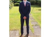 Mens Blue Suit - Excellent Condition only worn once.