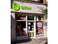 Volunteer Shop Assistant OXFAM