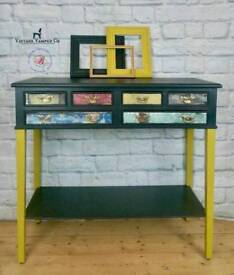 Retro table, console table, hall table