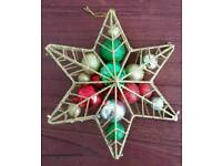 Bauble filled Star Christmas decoration