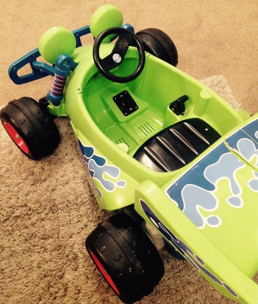 how to make a electric toy car