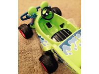 Electric Ride On Toy Story RC Car- Great fun for kids!