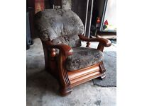 Quality parker Knoll arm chair