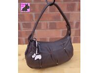 RADLEY - Small Soft Brown Leather Single Strap Bag *Excellent Condition
