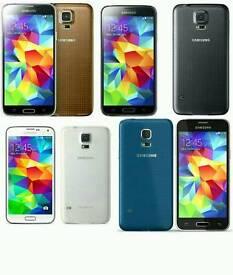 Brand New Orignal Samsung Galaxy S5 Uk Stock SM-G900F-16GB-Black,White(Unlocked)With Warranty