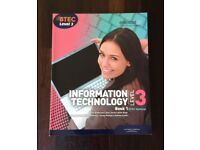 BTEC National Level 3 IT Edexcel Book 1 (2010)