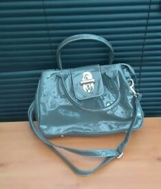 LADIES GREY HANDBAG
