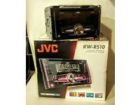 Double Din JVC car stereo