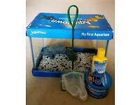 Fish Tank (12L) + accessories