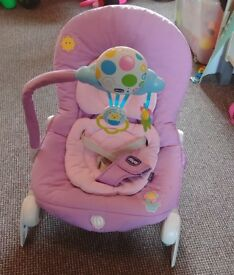 Chicco balloon bouncer relax baby chair lilac