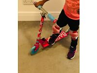 Kids Barbie themed Scooter for Sale - As good as new